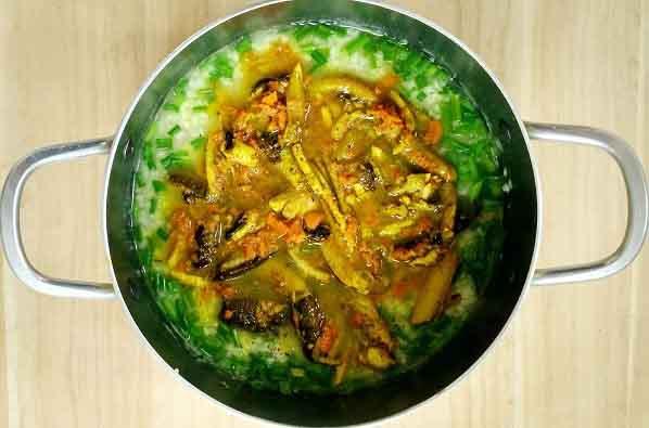 Cách nấu món cháo lươn xứ Nghệ