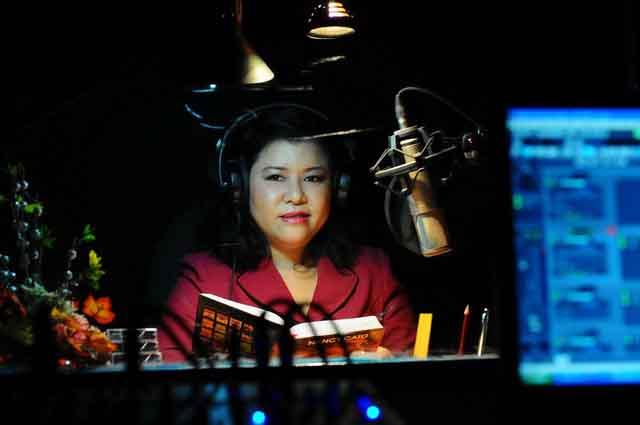 Chị Nguyễn Hướng Dương - giám đốc thư viện sách nói đã qua đời