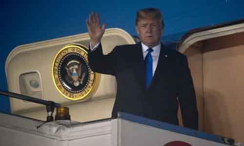 Tổng thống Trump đã đến Singapore để gặp nhà lãnh đạo Triều Tiên