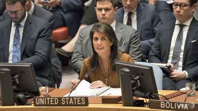Mỹ tuyên bố rút khỏi Hội đồng Nhân quyền Liên hiệp Quốc