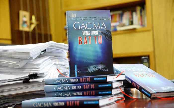 Tạm dừng phát hành sách về Gạc Ma
