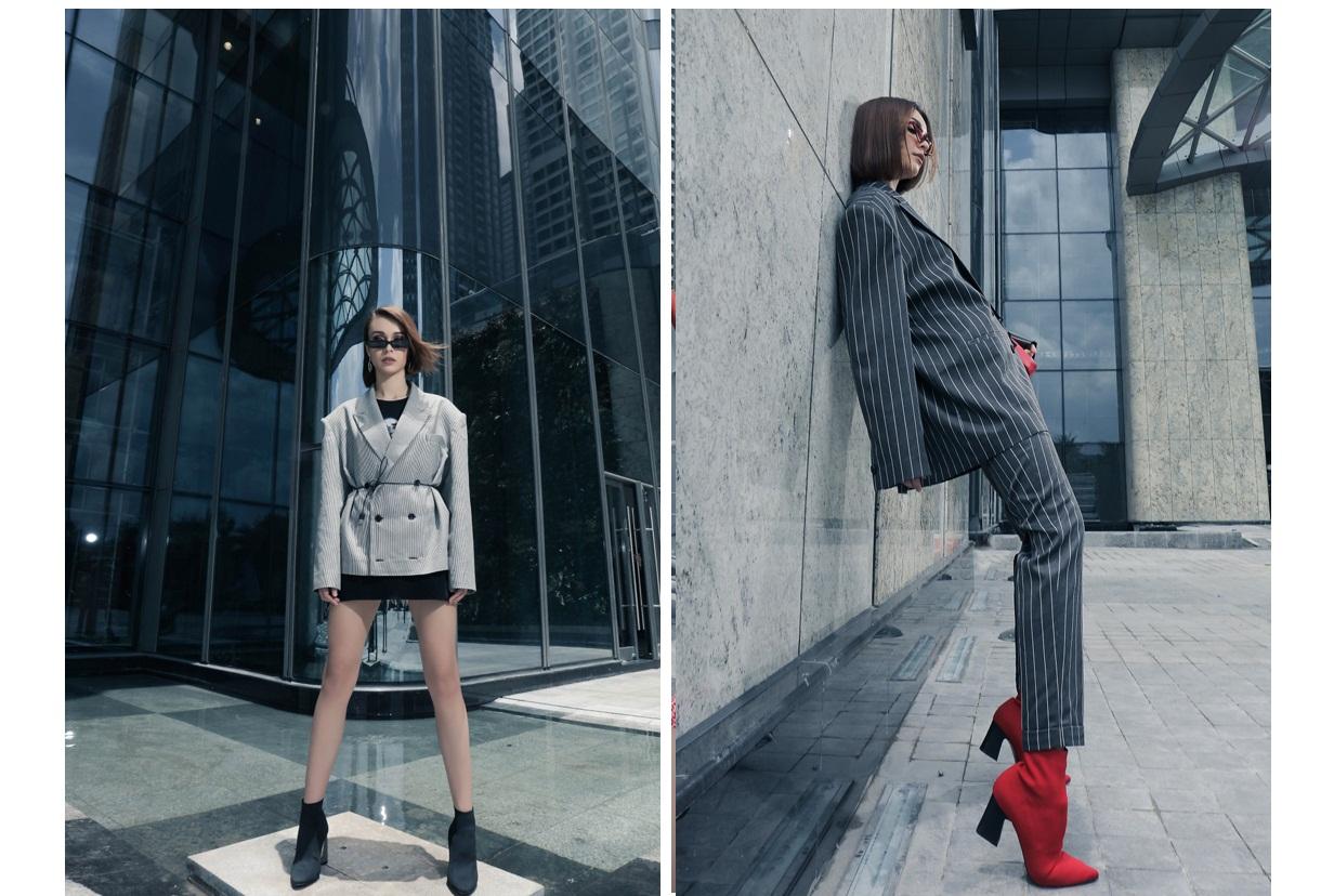 Cách chọn trang phục để chân... dài hơn