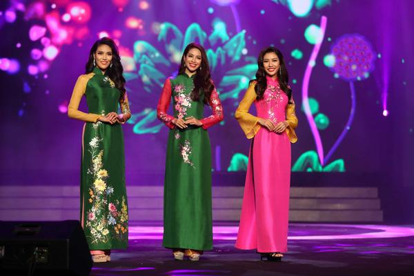 Duyên Dáng Việt Nam – nơi thăng hoa của những bộ sưu tập áo dài