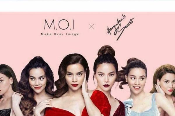 Chấm đểm bộ son M.O.I Cosmetic Hồ Ngọc Hà