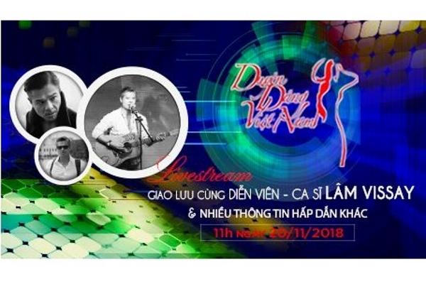 Livestream giao lưu ca sĩ, diễn viên Lâm Vissay