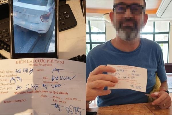 """Đi 4 km tại Hà Nội, khách Tây bị """"chặt chém"""" gần 1 triệu đồng tiền taxi"""