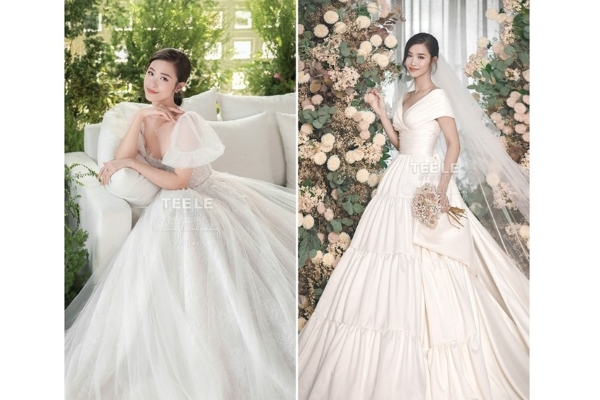 Điểm lại những chiếc đầm cưới siêu đẹp của mỹ nhân Việt
