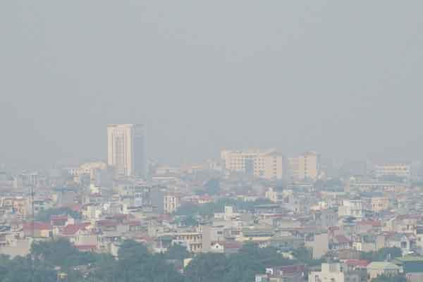 Hà Nội, chỉ số không khí ở mức nguy hại