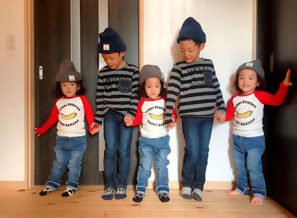 Bộ ảnh cực chất của mẹ Nhật có 5 đứa con