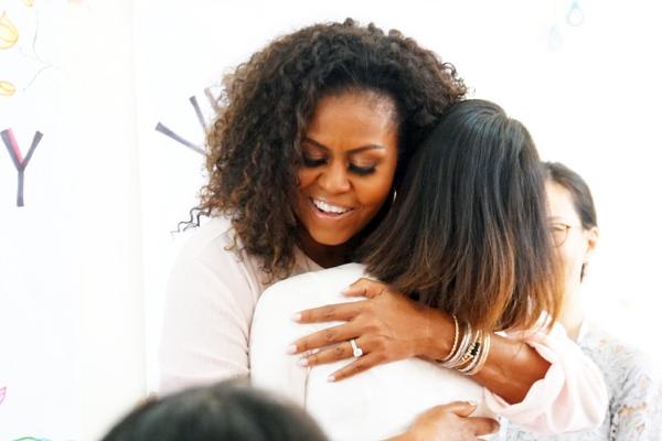 Cựu đệ nhất phu nhân Michelle Obama đến Long An