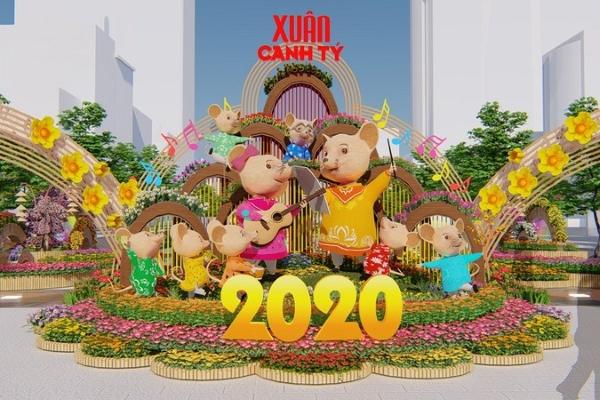 Đường hoa Nguyễn Huệ năm 2020 sẽ mở cửa từ 28 tháng Chạp