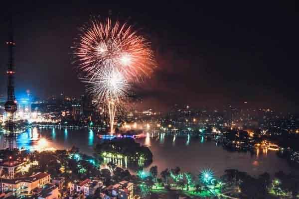 Hà Nội sẽ có 30 điểm bắn pháo hoa mừng Tết Canh Tý 2020