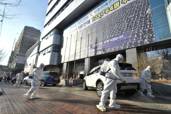 Hàn Quốc: gần 900 ca nhiễm nCoV