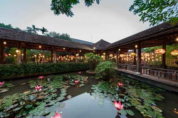 Những nhà hàng ăn tại Hà Nội mang phong cách hiện đại và đồng quê