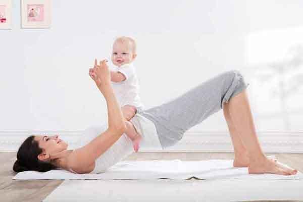 3 bài tập đơn giản giúp bạn lấy lại vóc dáng sau sinh trong vòng 1 tháng