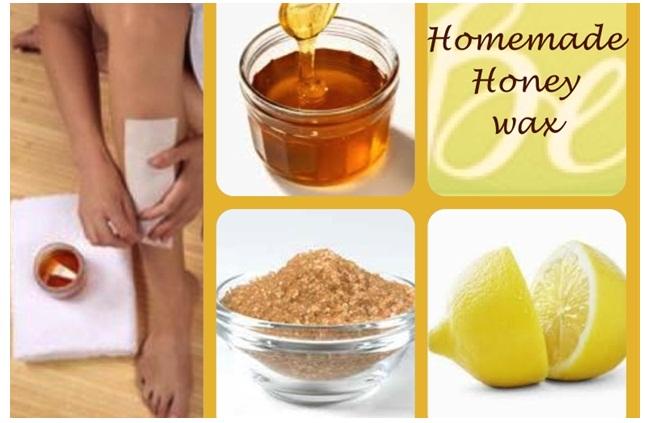 Tẩy lông với mật ong tại nhà - đẹp, rẻ, an toàn