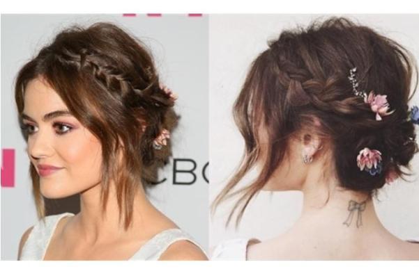 Biến hóa mái tóc ngắn với phong cách người nổi tiếng