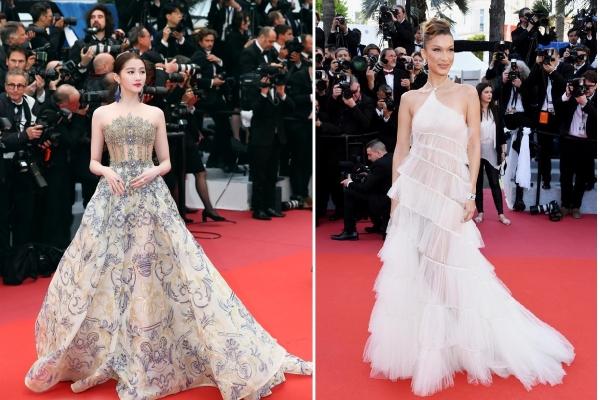 Những chiếc đầm xuyên thấu, thanh lịch trên thảm đỏ Cannes 2019