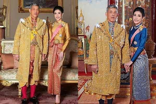 Nhan sắc xinh đẹp của hoàng hậu và hoàng quý phi Thái Lan