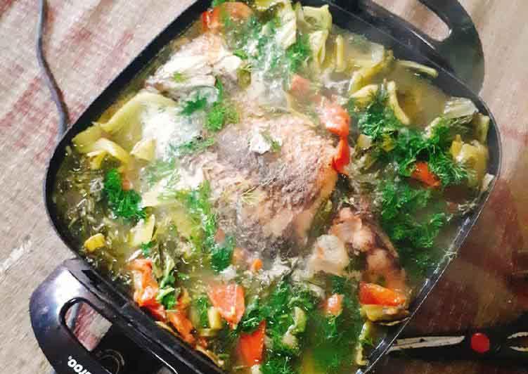 Món cá chép om dưa đặc biệt cho ngày mát trời