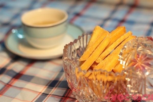 Bí kíp bỏ túi cho những món ăn ngon ngày tết: P1 - Mứt khoai lang