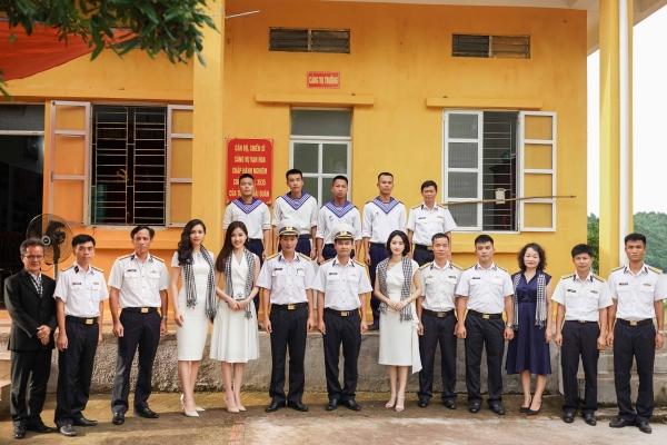 """""""Hành trình từ Trái tim"""" đến với chiến sĩ Hải quân và bộ đội biên phòng tỉnh Quảng Ninh"""