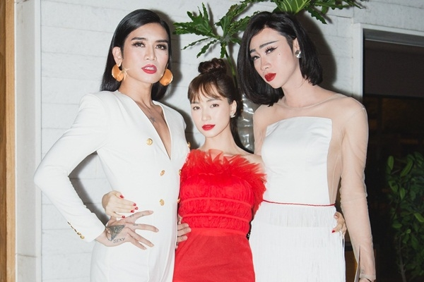 BB Trần, Hải Triều và Hòa Minzy nổi bật trên thảm đỏ thời trang