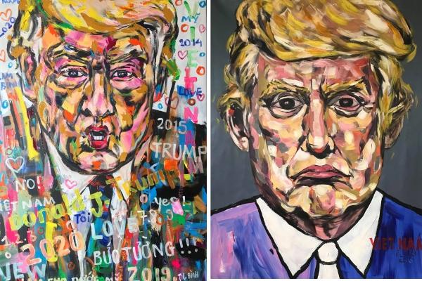 Họa sĩ Việt vẽ 500 chân dung Tổng thống Mỹ được mời triển lãm tại Ý