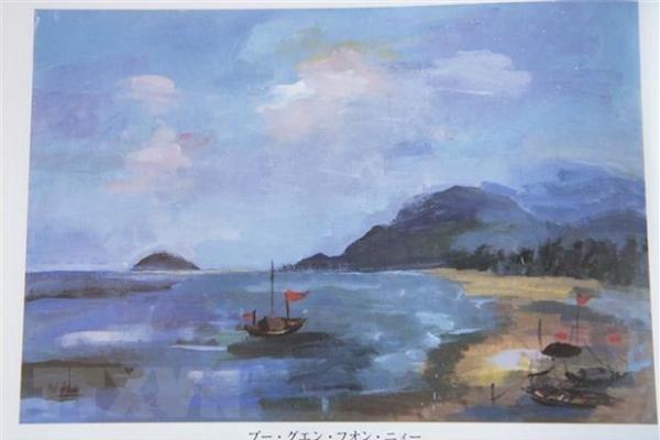 Tranh của học sinh Việt Nam được triển lãm tại Bảo tàng quốc gia Nhật