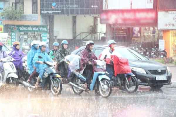 Dự báo sẽ có mưa lớn khắp cả nước dịp nghỉ lễ 2/9