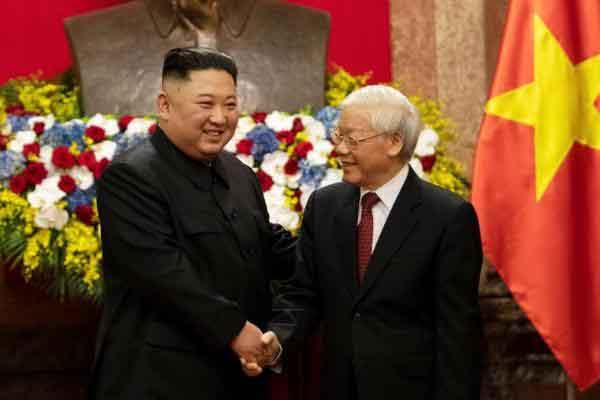 Lãnh đạo Triều Tiên chúc mừng Quốc khánh Việt Nam