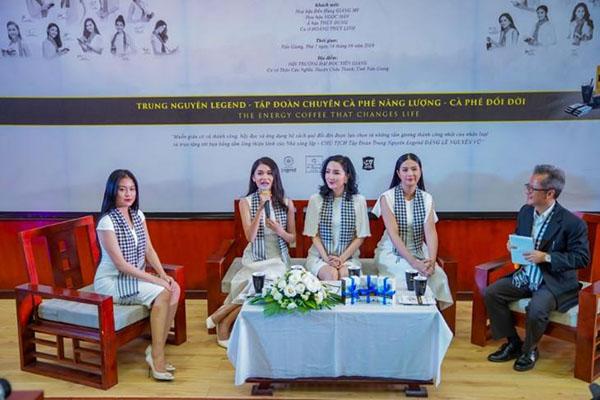 Hoa hậu Giáng My: Một đất nước muốn hùng mạnh phải đi từ tri thức