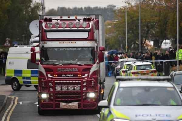 Vô cảm với vụ 39 người chết trong container, kênh truyền hình Anh bị chỉ trích
