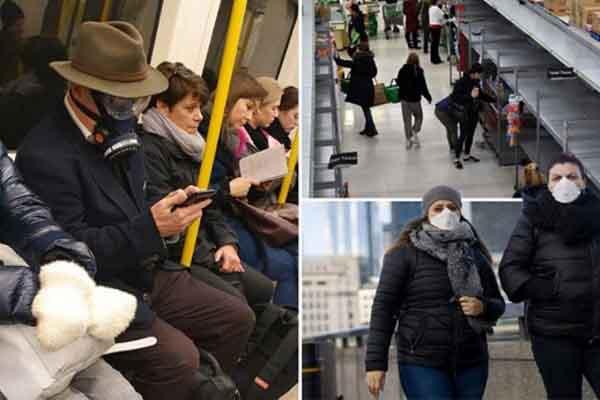 Anh: Dự đoán 80% dân số nhiễm virus nCoV trong 'kịch bản xấu nhất'