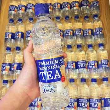 Nước lọc vị trà sữa Nhật Bản gây sốt giới trẻ
