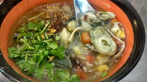 Nấu súp hàu đổi vị cho bữa ăn