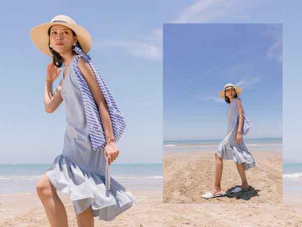 Những kiểu váy xinh xắn giúp bạn thêm yêu mùa hè