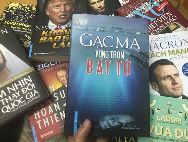 Một NXB của Mỹ mua bản quyền sách về Gạc Ma