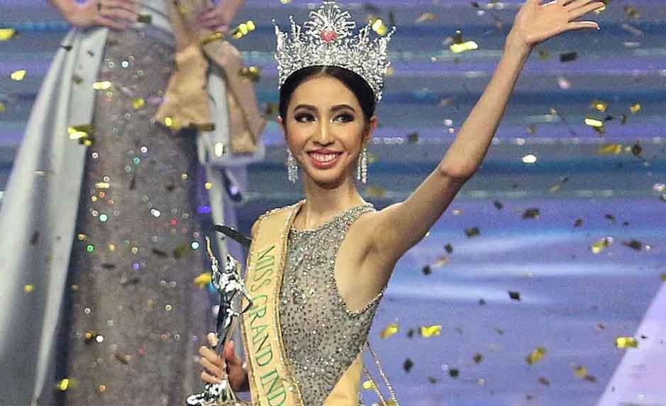 Cận cạnh gương mặc kém sắc của Tân Hoa hậu Hòa bình Indonesia