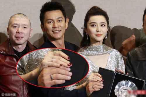 Lý Thần đã không còn đeo nhẫn đôi với Phạm Băng Băng?