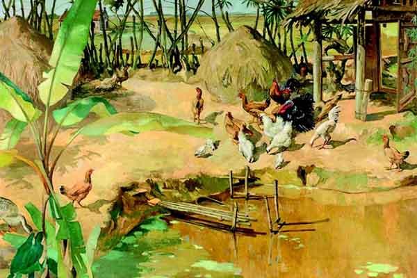 Hai bức tranh Việt về cố quốc