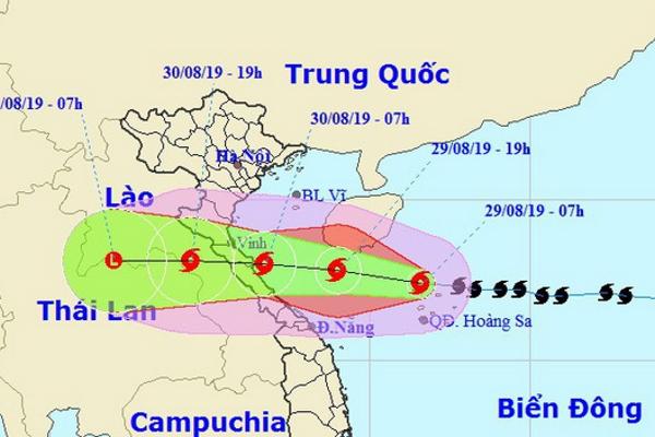 Ngày mai, Bão số 4 sẽ đổ bộ vào Nghệ An - Quảng Bình