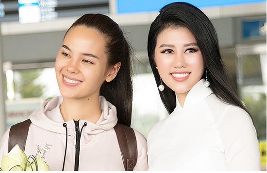 Hoa hậu Hoàn vũ Philippines với trang phục giản dị đã đến TP.HCM