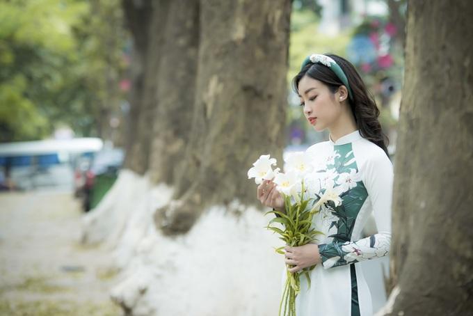 """Hoa hậu Đỗ Mỹ Linh trở thành """"nàng thơ"""" của hoa hậu Ngọc Hân"""