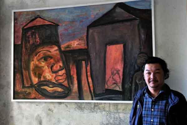 Triển lãm Huỳnh Lê Nhật Tấn: Bay ngơ ngác trong Tranh và Thơ
