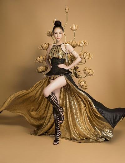 Hà Thu giành thêm hai huy chương vàng tại Miss Earth 2017