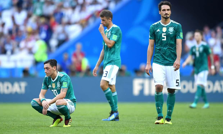 Thua thảm, các ngôi sao Đức rời World Cup trong hổ thẹn