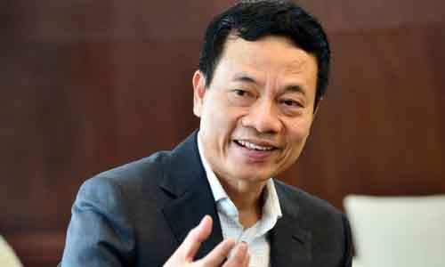 Ông Nguyễn Mạnh Hùng kỳ vọng sẽ phát triển nhanh mạng xã hội Việt