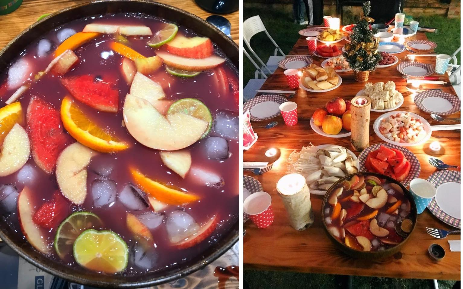 Cocktail hoa quả cho bữa tiệc mùa thu mát lành