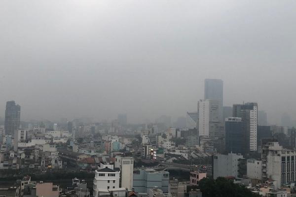Chỉ số chất lượng không khí ở TP.HCM rơi vào mức xấu